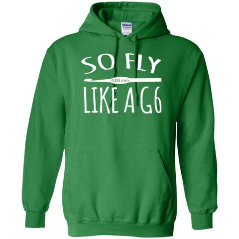 Apparel - So Fly Like A G6 Crochet Tshirt Hoodies