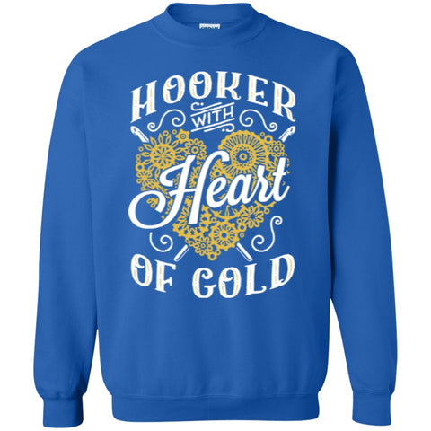 Crewnecks - Hooker With Heart Of Gold  Crewneck Pullover Sweatshirt  8 Oz
