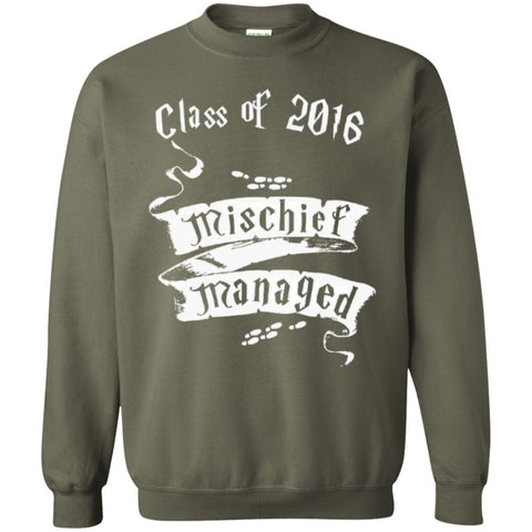 Crewnecks - Mischief Managed Class Of 2016  Crewneck Pullover Sweatshirt  8 Oz