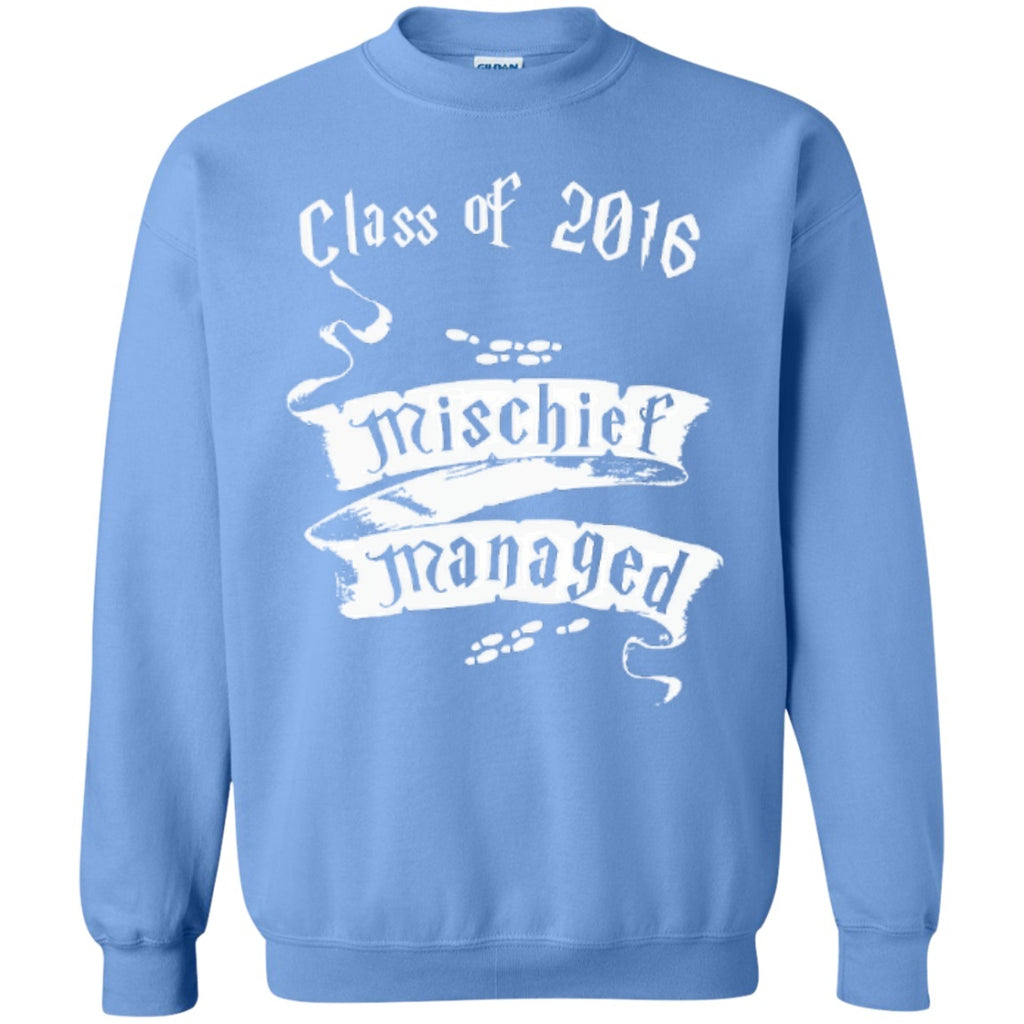 Crewnecks - Mischief Managed Class Of 2016   Pullover Sweatshirt  8 Oz