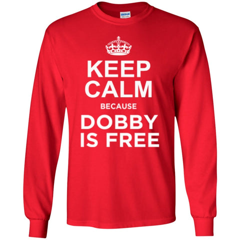 Featured Products - Keep Calm Because Dobby Is Free  Hoodie   Long Sleeve Tshirt