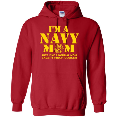 Featured Products - Navy Mom Cool  Hoodie