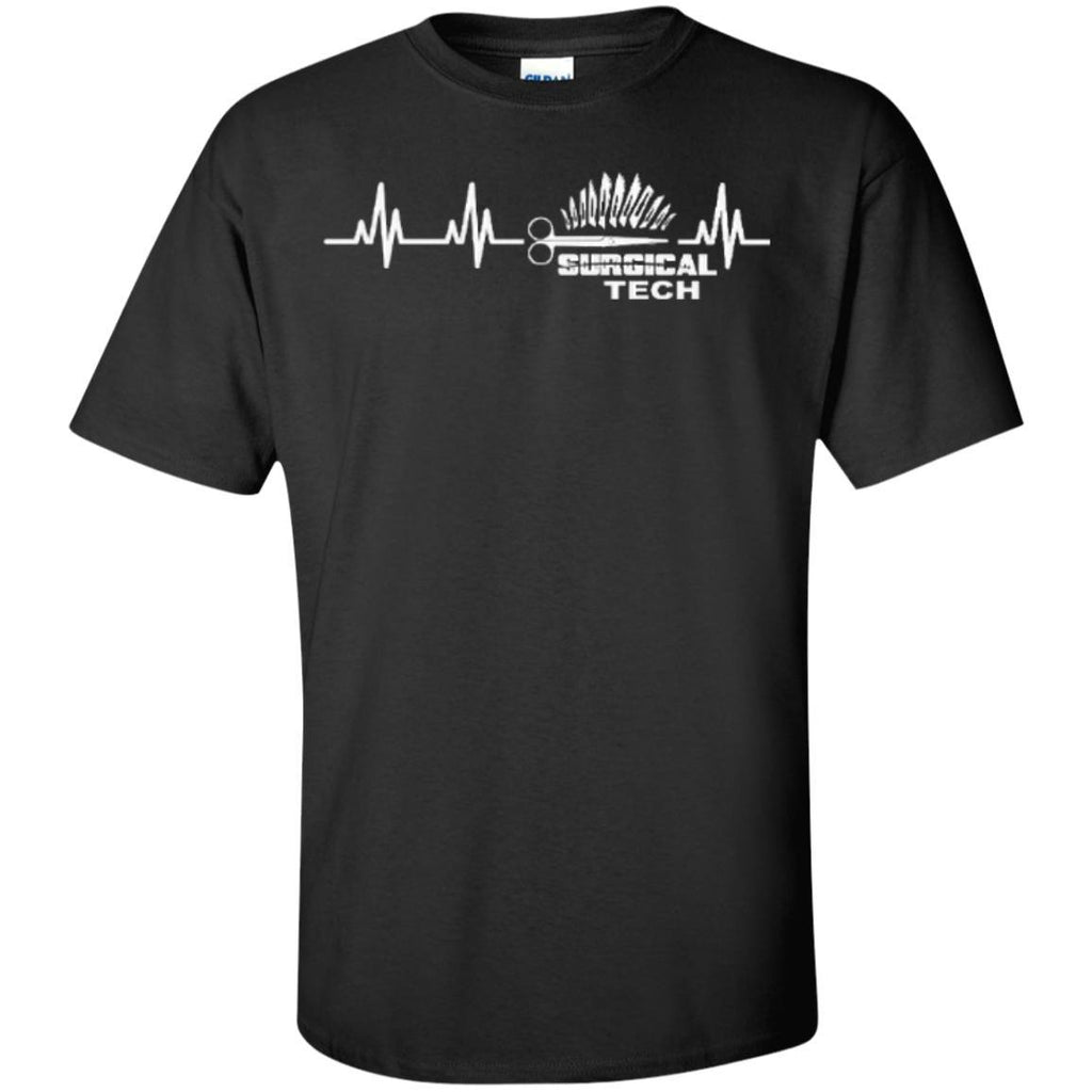 Featured Products - Surgical Tech Heartbeat   Cotton T-Shirt