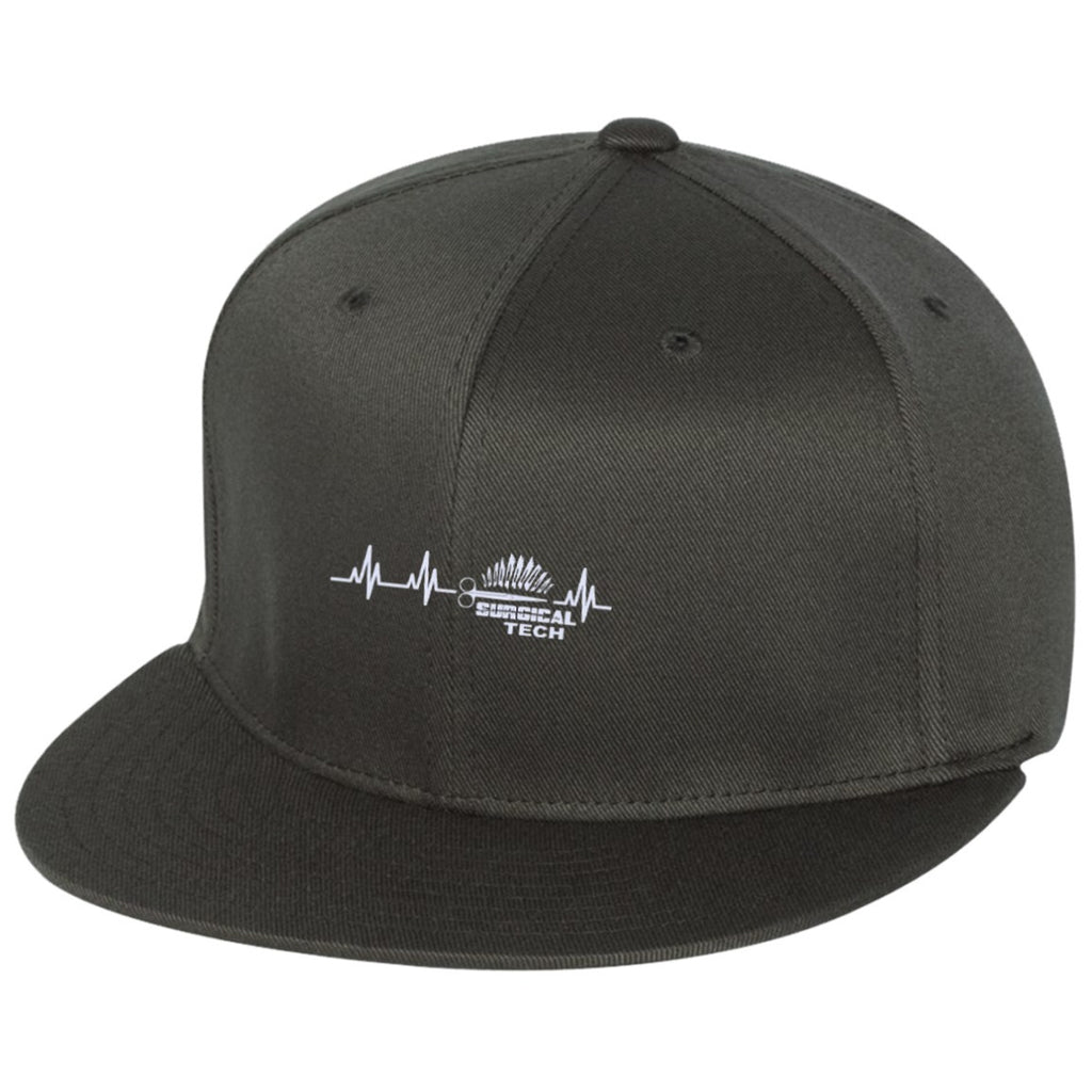 Hats - Surgical Tech Heartbeat  Flexfit Cap