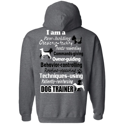 Hoodies - Dog Trainer T-Shirt  Pullover Hoodie 8 Oz