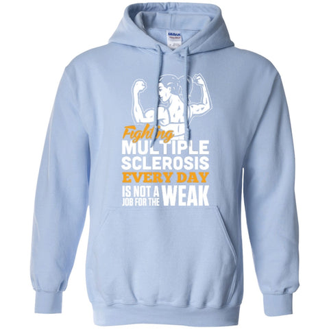 Hoodies - Fighting MS Everyday   Hoodie 8 Oz