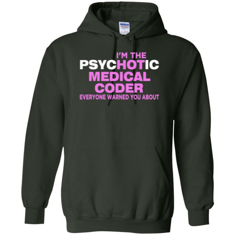 Hoodies - Hot Medical Coder  Hoodie 8 Oz