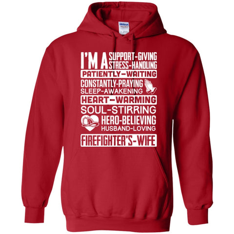 Hoodies - I'm A Firefighter's Wife Hoodie