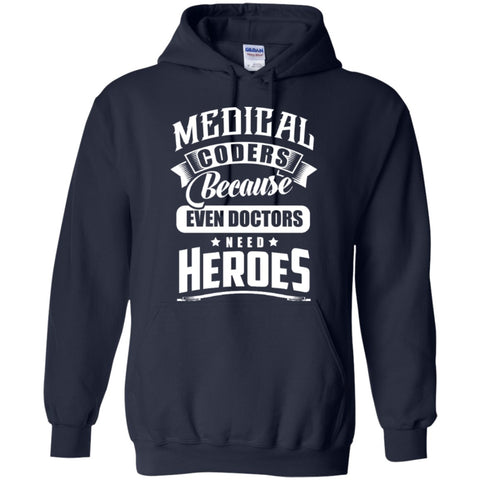 Hoodies - Medical Coder Heroes  Hoodie 8 Oz