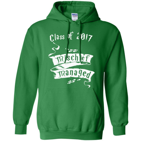 Hoodies - Mischief Managed Class Of 2017  Hoodie 8 Oz