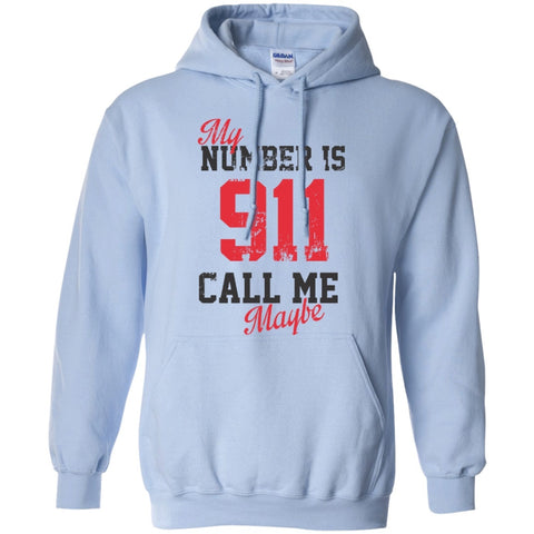 Hoodies - My Number Is 911 Call Me Maybe  Hoodie