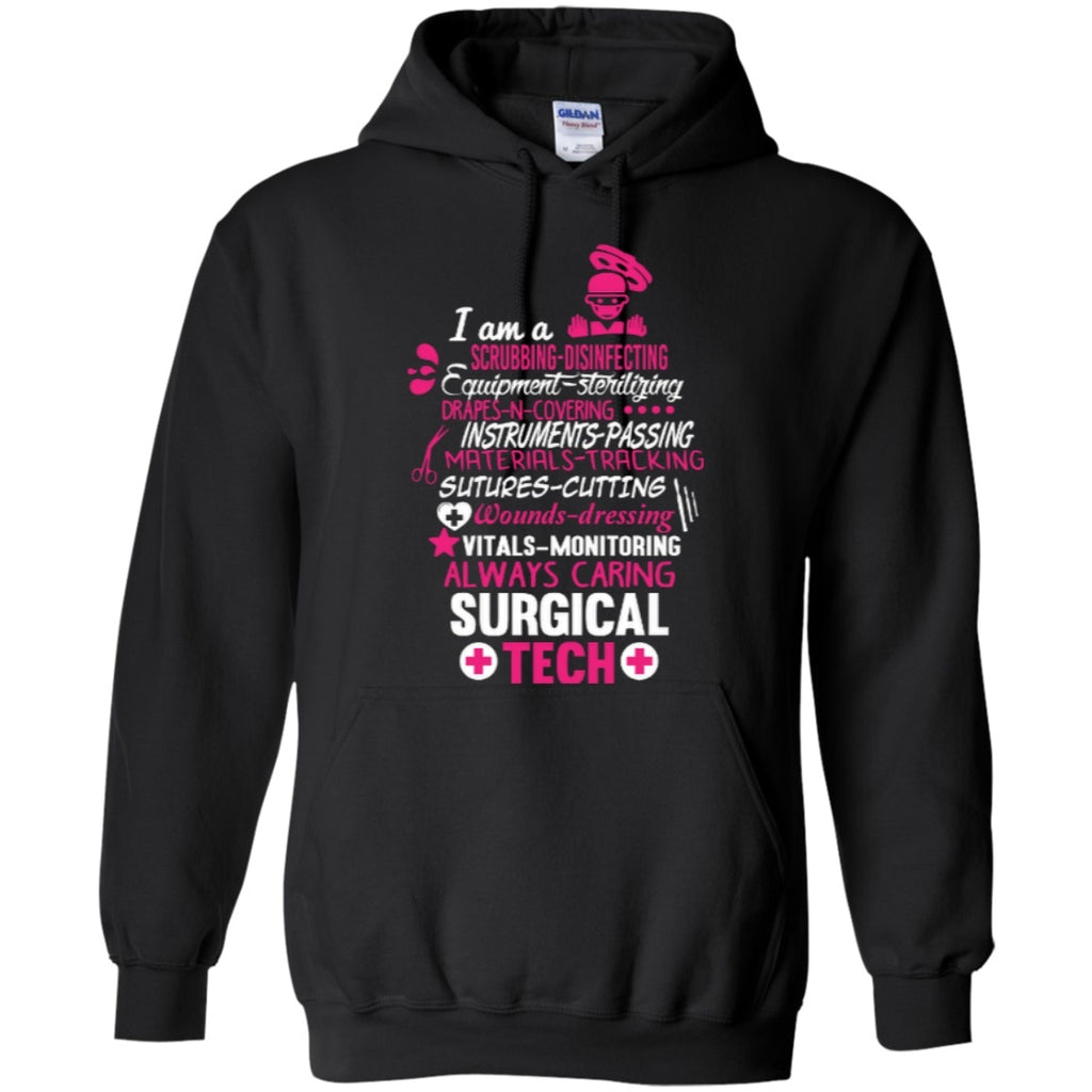 Hoodies - Surgical Tech Poems  Hoodie 8 Oz