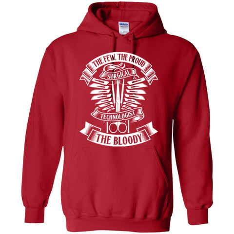 Hoodies - Surgical Tech Proud  Hoodie 8 Oz
