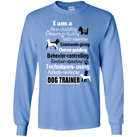 Long Sleeve - Dog Trainer   Ultra Cotton Tshirt
