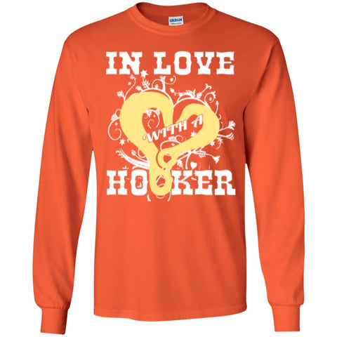 Long Sleeve - In Love With Hooker  Ultra Cotton Tshirt