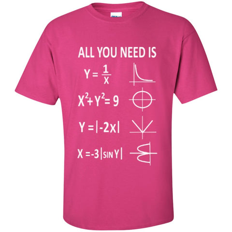 Short Sleeve - All You Need Is Love Math T-Shirt