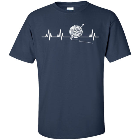 Short Sleeve - Crochet Heartbeat T-Shirt