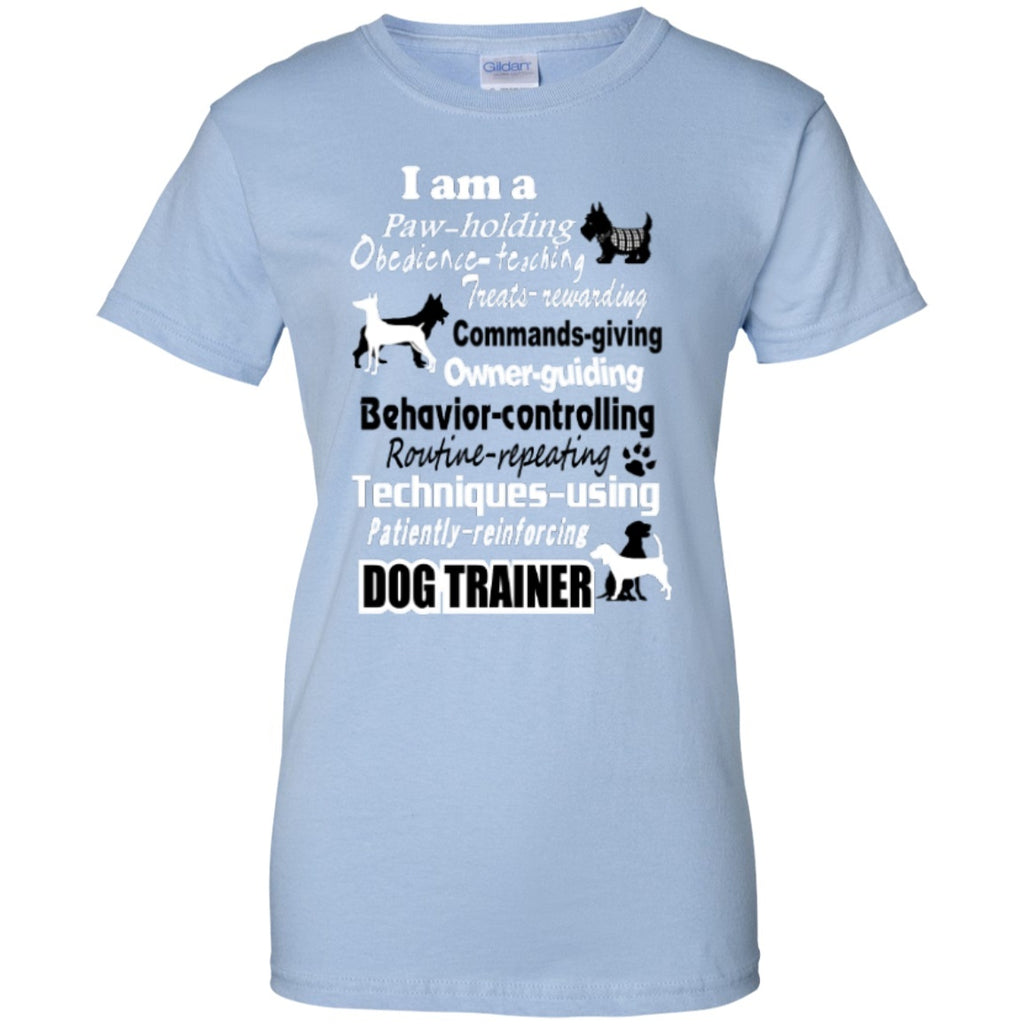 Short Sleeve - Dog Trainer   Custom 100% Cotton T-Shirt