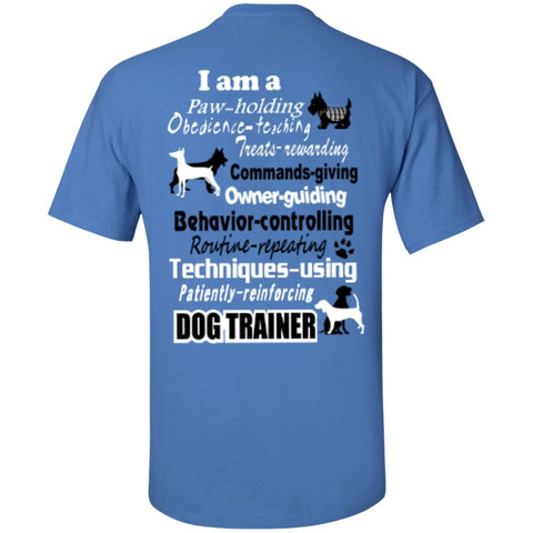 Short Sleeve - Dog Trainer  T-Shirt