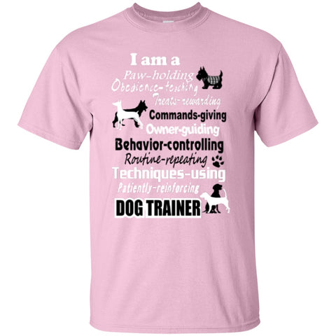 Short Sleeve - Dog Trainer T-Shirt ( Front Print ) Edition