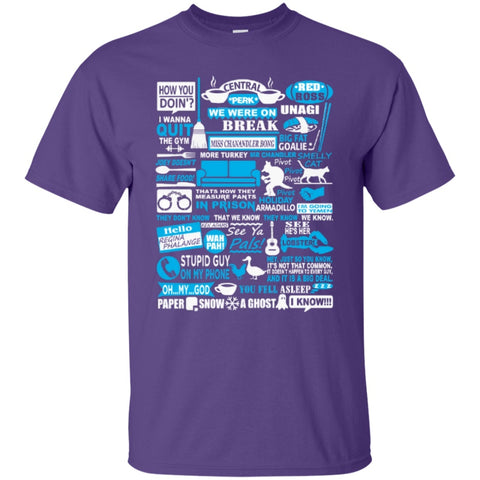 Short Sleeve - F.r.i.e.n.d.s Forever Quotes  T-Shirt