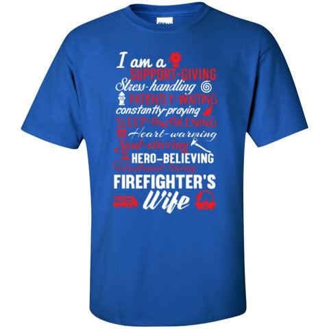Short Sleeve - Firefighter's Wife  T-Shirt