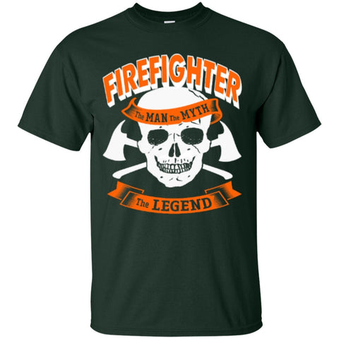 Short Sleeve - Firefighter The Man The Myth And The Legend  T-Shirt