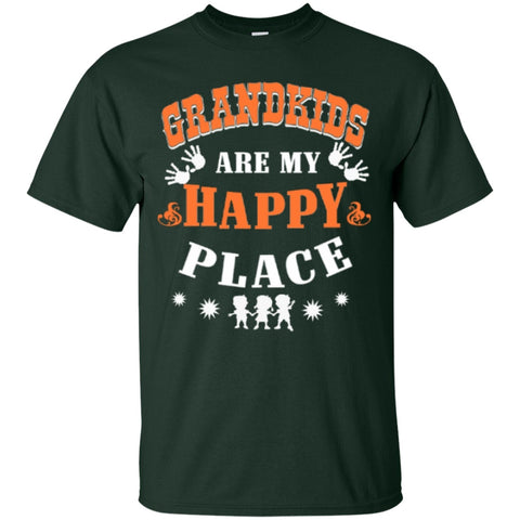 Short Sleeve - Grandkids Are My Happy Place T-Shirt