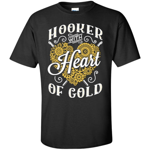Short Sleeve - Hooker With Heart Of Gold  T-Shirt