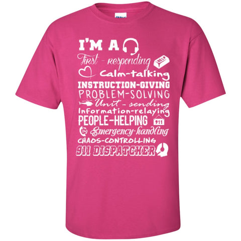 Short Sleeve - I Am  911   T-Shirt