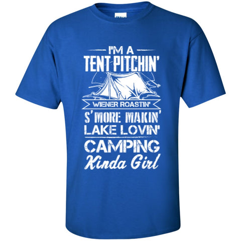 Short Sleeve - I'm A Tent Pitchin Love Camping T-Shirt