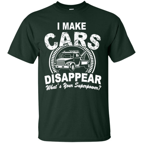 Short Sleeve - I Make Cars Disappear  T-Shirt