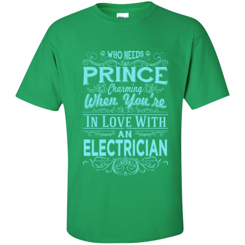 Short Sleeve - In Love With Electrician  Tshirt