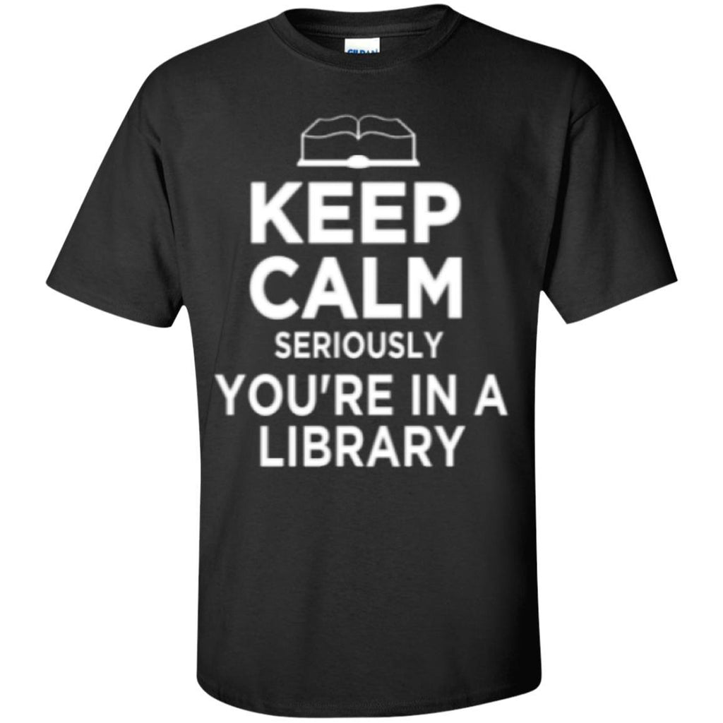 Short Sleeve - Keep Calm Library   T-Shirt