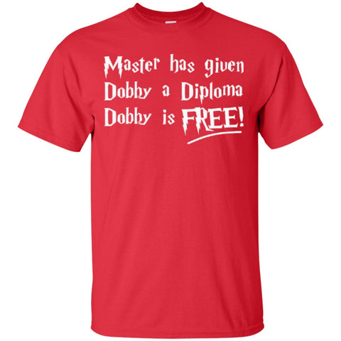 Short Sleeve - Master Has Given Dobby A Diploma Dobby Is Free  T-Shirt