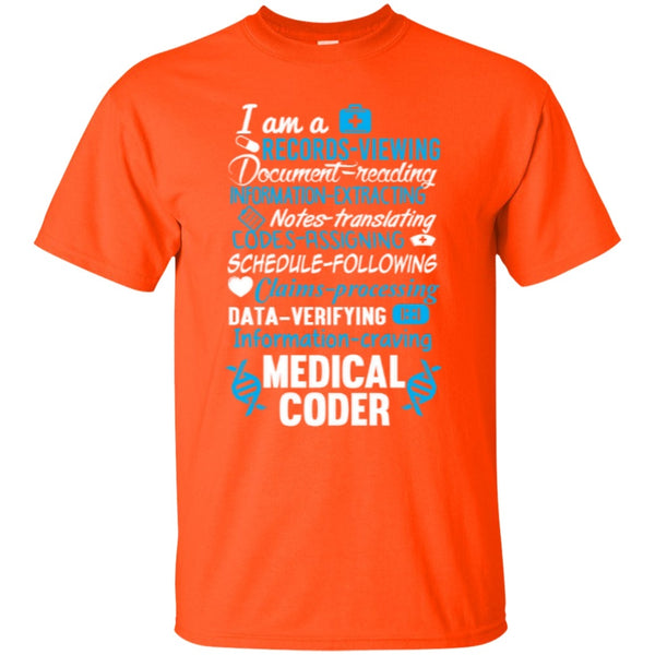 Medical Coder Quote T Shirt Teeholic