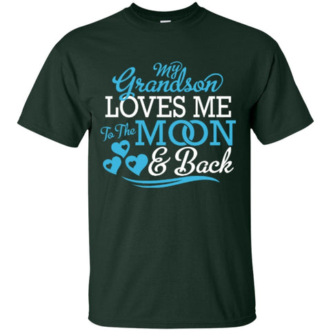 Short Sleeve - My Grandson Loves Me  T-Shirt