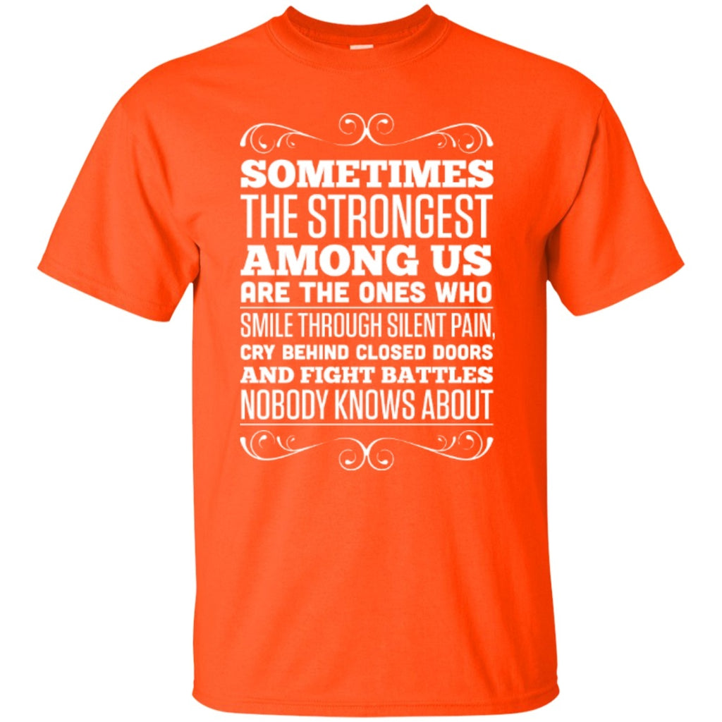 Short Sleeve - The Strongest Among Us  T-Shirt