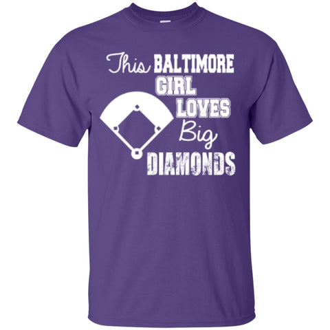Short Sleeve - This Baltimore Girl Loves Big Diamonds Tshirt