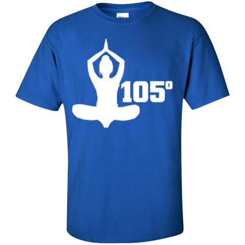 Short Sleeve - Yoga 105 Degrees  Cotton T-Shirt