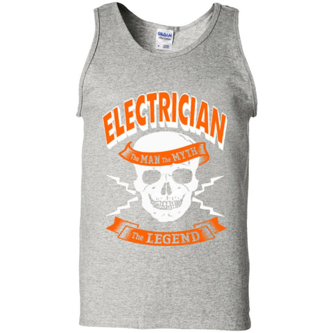 Electrician The Man The Myth The Legend Tank Top