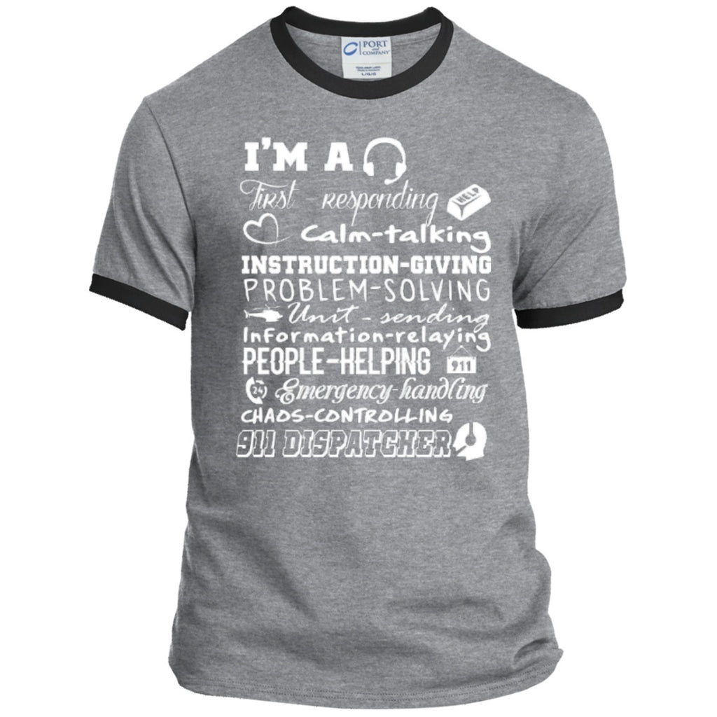 T-Shirts - 911  Poems   Ringer Tee