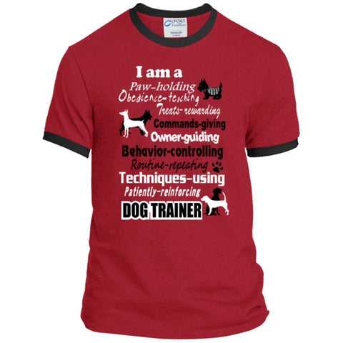 T-Shirts - Dog Trainer  Ringer Tee