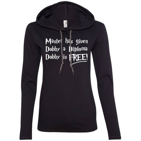 Master has given dobby a diploma dobby is free  LS T-Shirt Hoodie