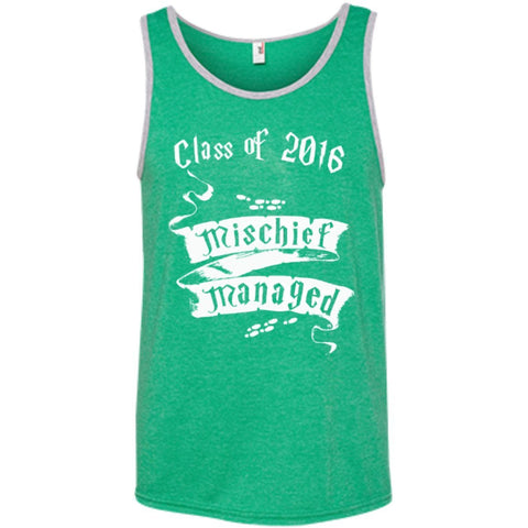 T-Shirts - Mischief Managed Class Of 2016 100% Ringspun Cotton Tank Top