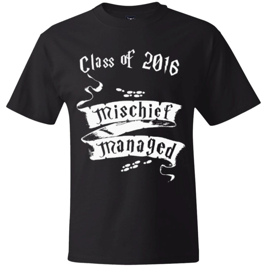 T-Shirts - Mischief Managed Class Of 2016   Hanes Beefy T