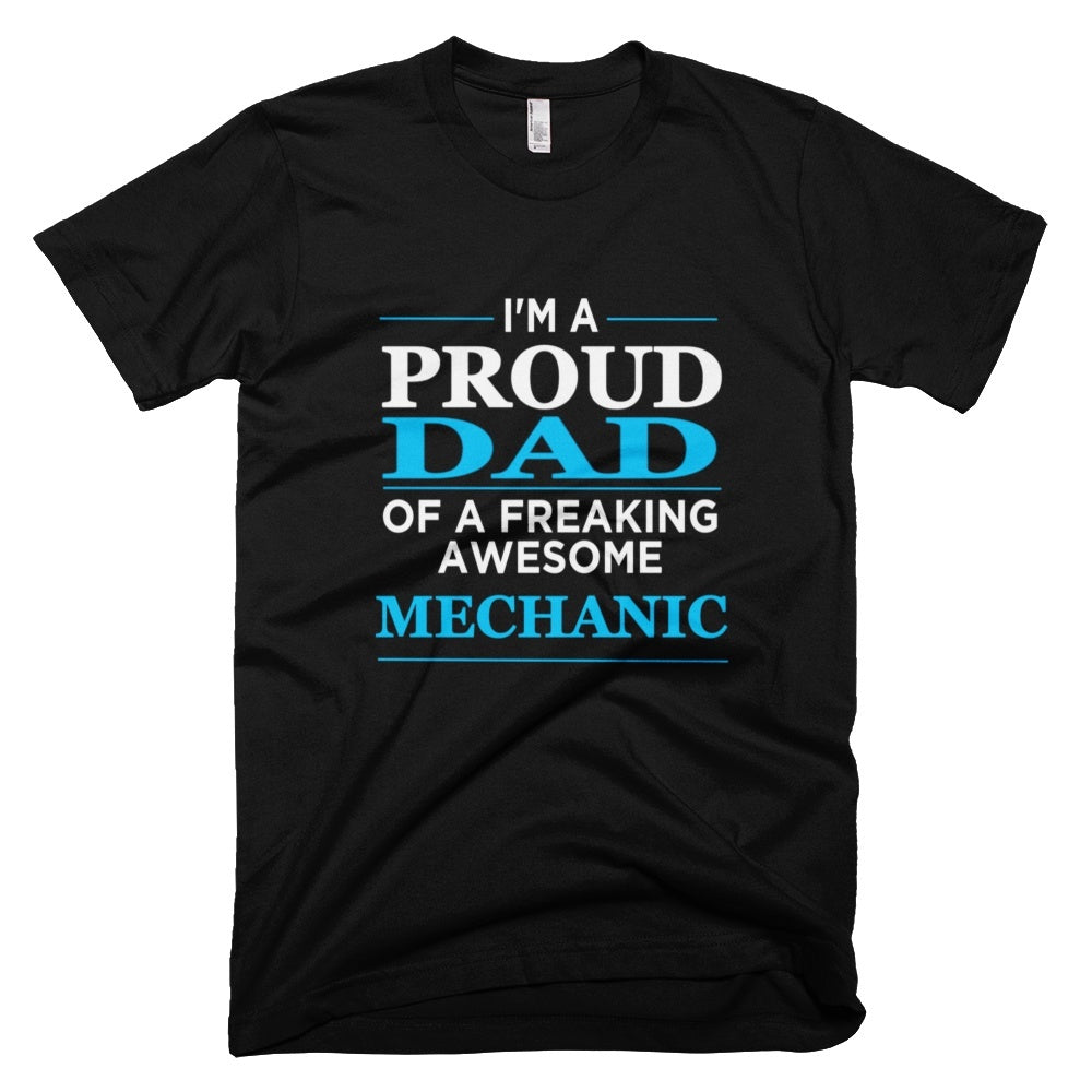 Tshirt , Hoodies - I'm A Proud Dad Of Freaking Awesome Mechanic