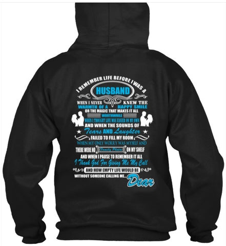 Tshirt , Hoodies - I Remember Life Before I Was A Husband