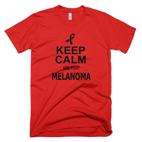 Tshirt , Hoodies - Keep Calm And Fight Melanoma