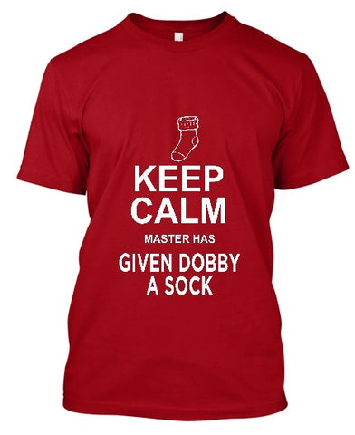 Tshirt , Hoodies - Keep Calm Master Has Given Dobby A Sock